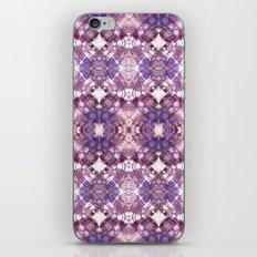 Purple Circle iPhone & iPod Skin