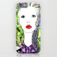 Rainbow Riot Girls. iPhone 6 Slim Case