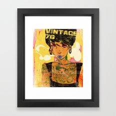 Vintage 76 ( Karla ) Framed Art Print