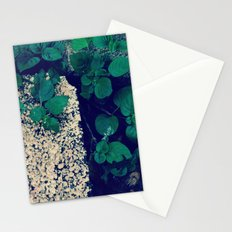Leafs and texture Stationery Cards