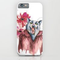 iPhone & iPod Case featuring Cat's Pajamas by Marlene Pixley
