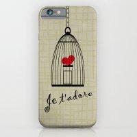 Je t'adore iPhone 6 Slim Case