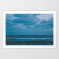 To The Lonely Sea And Th… Art Print