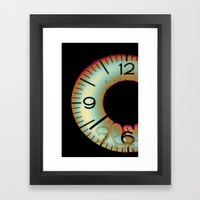 Time Waits For Nobody Framed Art Print