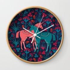 Unicorn Land Wall Clock