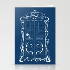 The Tardis Doctor Who Stationery Cards