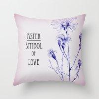 Symbol Of Love Throw Pillow