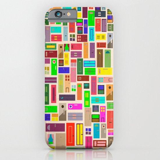 Doors - White iPhone & iPod Case