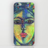 Face#3 iPhone & iPod Skin