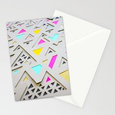 Geometric 2nd 3D Paperart Stationery Cards
