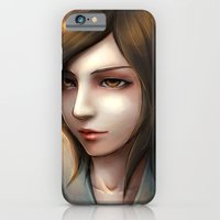 Brown hair Asian iPhone 6 Slim Case