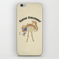 SCALLY CRAB iPhone & iPod Skin