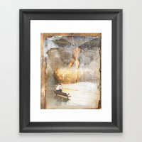 The Sacred And The Munda… Framed Art Print