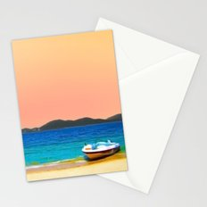 Mellow Beach Stationery Cards