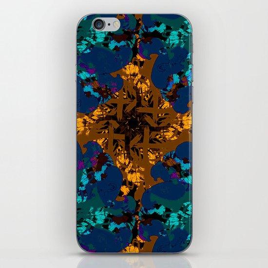 The circle of birds ... Dark iPhone & iPod Skin