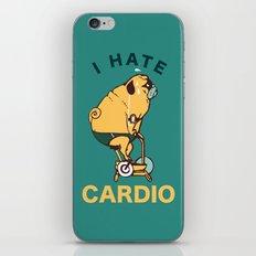 I Hate Cardio iPhone & iPod Skin