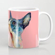 cat, pink Mug