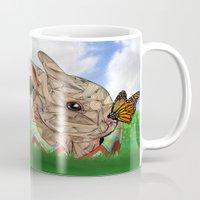 Bunny and Butterfly Mug