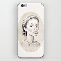 Portrait iPhone & iPod Skin