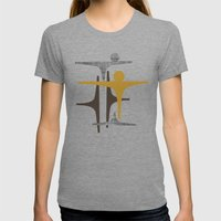 MCM Frarndt Womens Fitted Tee Tri-Grey SMALL