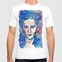 Tom Mens Fitted Tee White SMALL