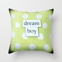 Dream boy Throw Pillow