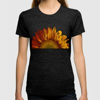 A Sunflower Womens Fitted Tee Tri-Black SMALL