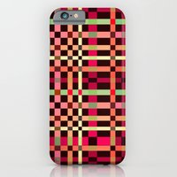 Little Squares Pattern! iPhone 6 Slim Case