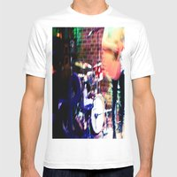 Jammin' Mens Fitted Tee White SMALL