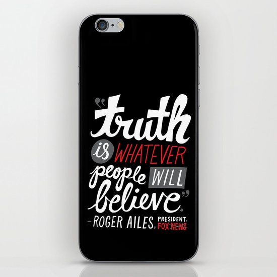 Fox News and Truth iPhone & iPod Skin