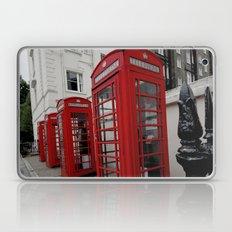 Phone Booths of London Laptop & iPad Skin