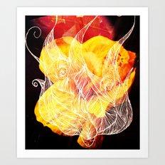 Wavy Art Print