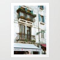VENICE V - APARTMENT Art Print