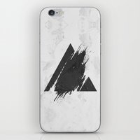 PLACE Triangle iPhone & iPod Skin