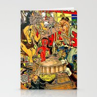 the daily lives of hungry ghosts Stationery Cards