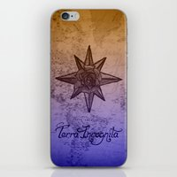 Terra Incognita iPhone & iPod Skin