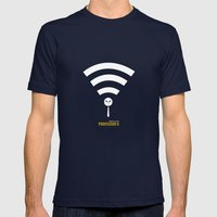 Minimal Professor X Mens Fitted Tee Navy SMALL