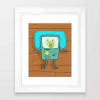 Baby BMO Framed Art Print