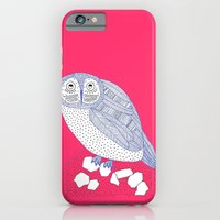 iPhone & iPod Case featuring Just Another Owl by lush tart