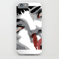 iPhone & iPod Case featuring There goes mrs. Mia Wallace by The Headless Fish