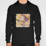 Profile Woman And Flower… Hoody
