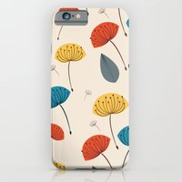 Dandelions in the wind iPhone 6 Slim Case