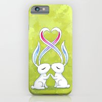 Bunny Kiss iPhone 6 Slim Case