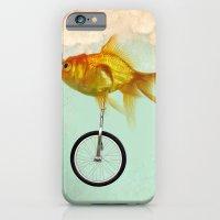 Unicycle Gold Fish -2 iPhone 6 Slim Case