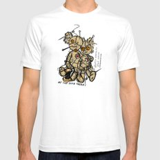 OF THE SAME THREAD Mens Fitted Tee White SMALL