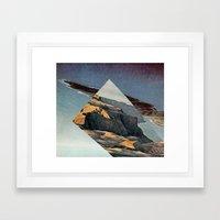 m a n i f Framed Art Print