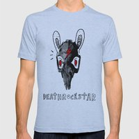 Rabitt Skull Mens Fitted Tee Athletic Blue SMALL