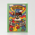Believe in your selfie Stationery Cards