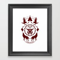 Indian Spirit Framed Art Print