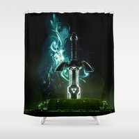 Savior of Hyrule Shower Curtain